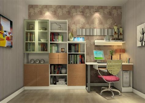 home study home study with beautiful bookcases decoist