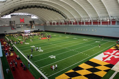 cole field house maryland officially opens new cole field house indoor practice facility baltimore sun