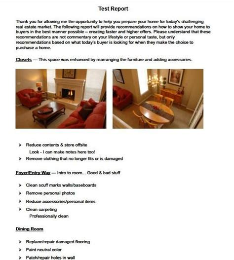 home staging report template comfortable consultation report template contemporary