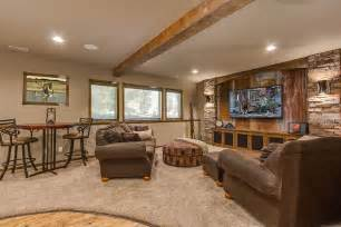 rustic basement ideas basement decorating ideas with modern and rustic themes