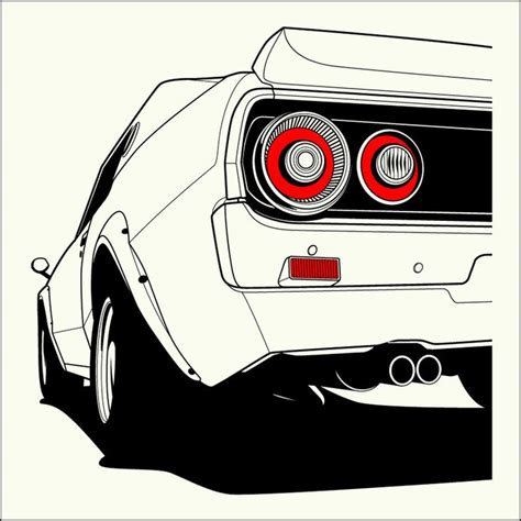 nissan gtr skyline drawing 49 best images about cars on pinterest godzilla cars