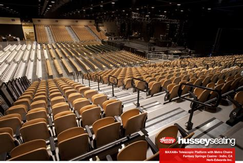convention seating gym bleachers audience seating
