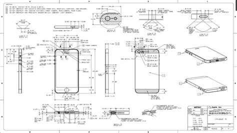 5 Drawing Conventions Relating To Dimensions by Iphone 5 Drawing Dimensions Other 3d Cad Model