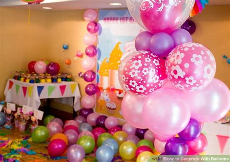 how to decorate with balloons 9 steps with pictures wikihow
