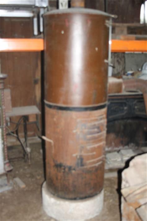 Chauffe eau à bois   Rainville / Vosges