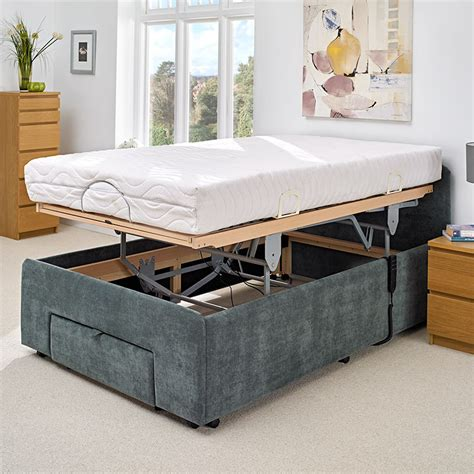 4ft olympia deluxe adjustable bed electric beds careco
