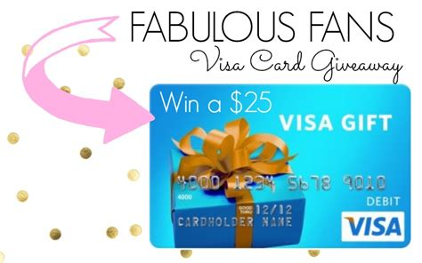 Visa Gift Card Help Phone Number - fabulous fans visa gift card giveaway classy clutter