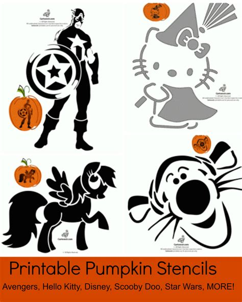printable pumpkin stencils disney halloween archives page 2 of 2 jinxy kids