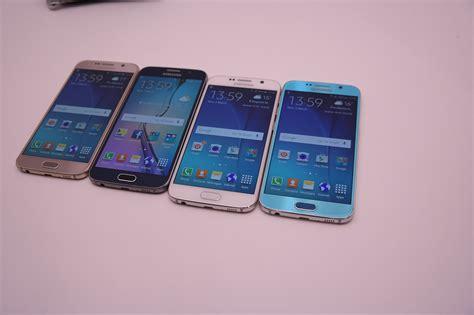Samsung S6 Galaxy Edge samsung galaxy s6 und galaxy s6 edge die farben im vergleich all about samsung