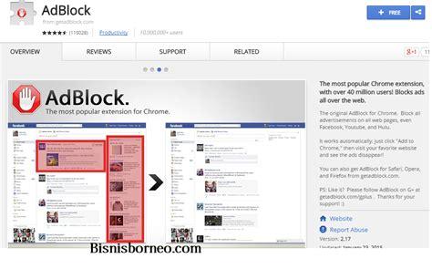chrome banyak iklan cara menghilangkan iklan di google chrome dengan