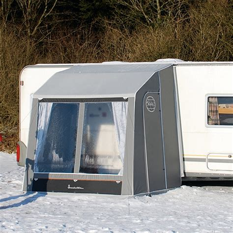 caravan porch awnings isabella isabella winter caravan porch with zinox steel frame you
