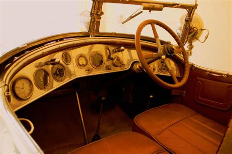 Vintage Cer Interior by Vintage Car Interior Photograph By Ankit Sharma