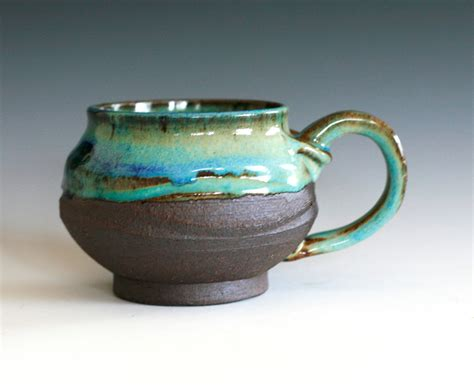 Handcrafted Ceramic Mugs - coffee mug handmade ceramic cup ceramic stoneware by ocpottery