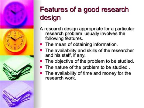 design is research research design