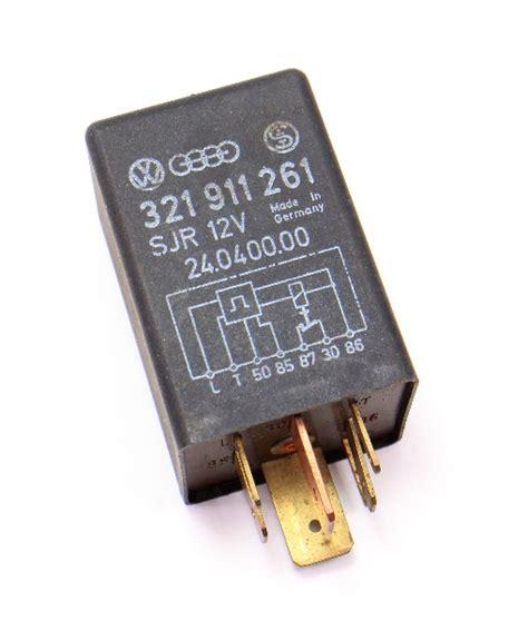 Glow Plug Relay 80 84 Vw Rabbit Scirocco Mk1 Genuine