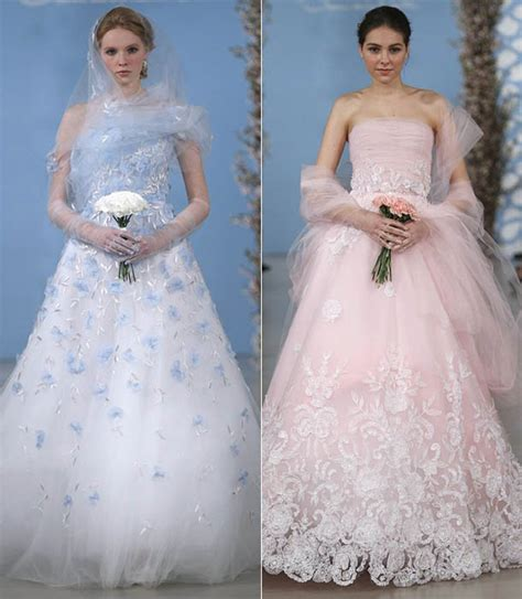 Portia De Wedding Gown by Coloured Wedding Dresses From 2013 Catwalks And Inspired