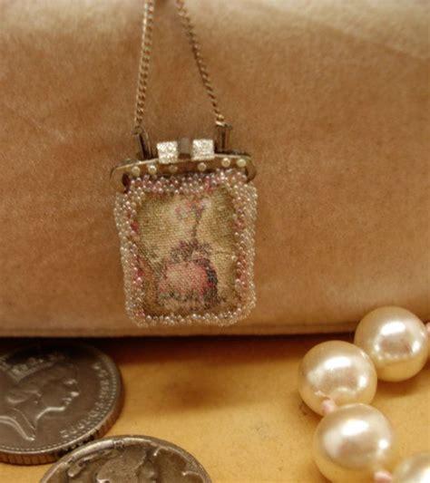Mini Miniature 112 miniature 112 beaded jewelled handbag4 by