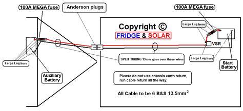 wiring diagram wiring diagram for caravan battery