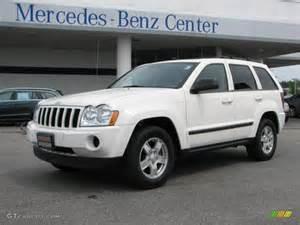 2007 white jeep grand laredo 4x4 31536710