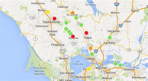 san francisco map power outage san francisco bay area hit by strongest earthquake in 25