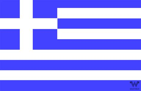 Aufkleber Länderflaggen by Flagge Griechenland Aufkleber 8 5 X 5 5 Cm Whatabus Shop
