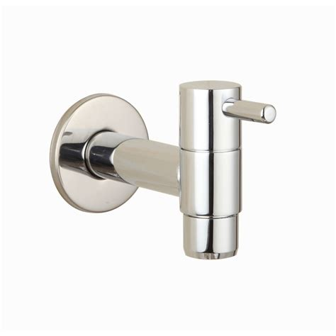 brass chrome laundry bathroom wetroom faucet wall mount