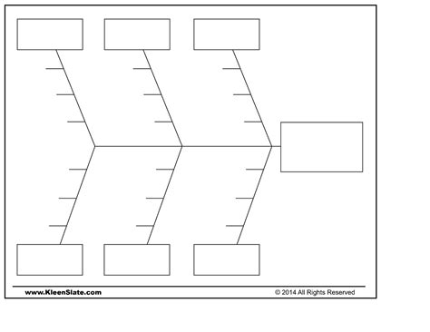 blank fishbone diagram www imgkid com the image kid