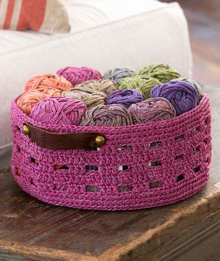 yarn keeper pattern crochet storage baskets lots of free patterns garens