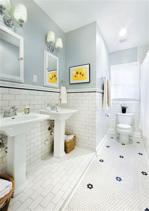 1930s bathroom updated for 21st century traditional bathroom by avenue b development