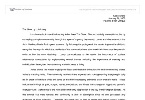 themes and exles in the giver essay questions the giver write curriculum vitae job