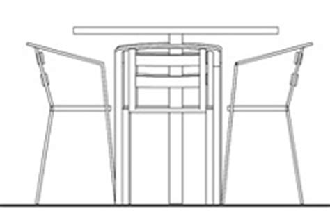 tavoli prospetto dwg tables and chairs drawings