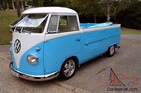 vw kombi splitscreen split window 1963 single cab ute in