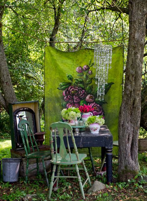 shabby style im garten my houzz layers of patina and an artist s touch in a new