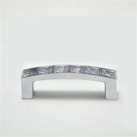 64mm dresser drawer pulls acrylic crystal cabinet handles cupboard handles closet