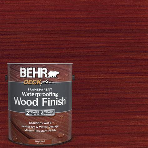 behr deckplus  gal deckplus redwood transparent