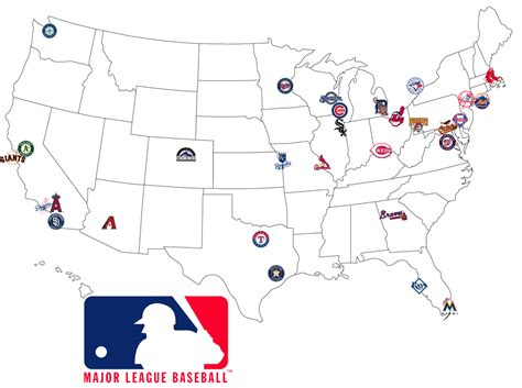 mlb map opening day baseball out in the cold