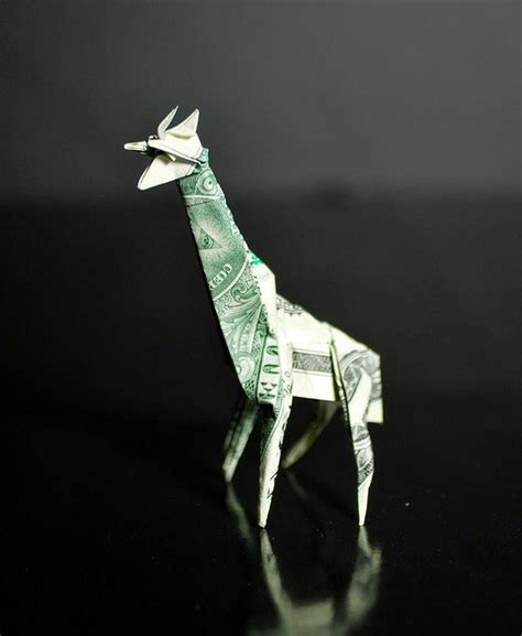 Dollar Bill Origami Giraffe - 1000 images about creative ideas on peacocks
