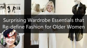 Wardrobe Fashion Women Over 60 | fashion for women over 60 surprising wardrobe essentials