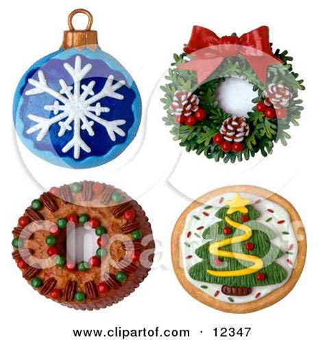 3d round ornament cookie recipe 3d ornament wreath cake and cookie posters prints by vangsgard interior