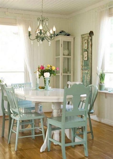 inspired ideas   coastal cottage dining room