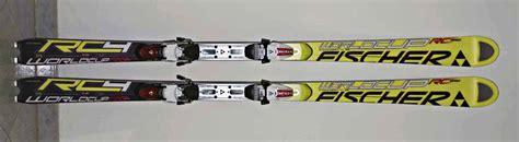 conform möbel test ski fischer la prova di un argento base