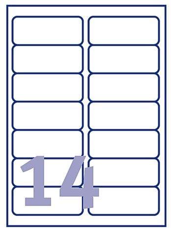 label template j8163 etiket avery j8163 10 99 1x38 1mm 140st universele