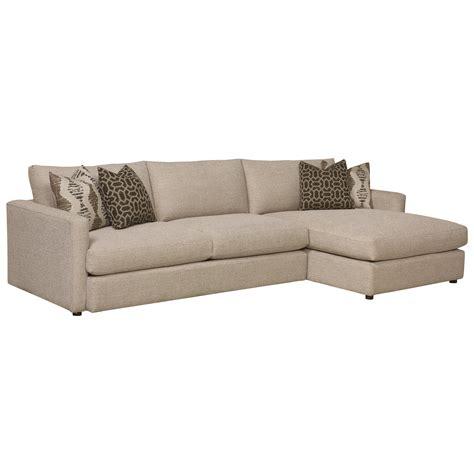 bassett hudson sofa bassett allure contemporary sectional with right arm