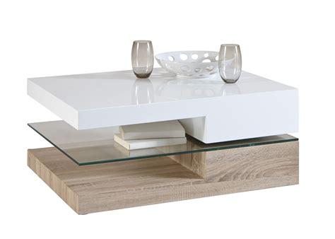 table de salon contemporaine design table basse contemporaine rectangulaire bois verre eviane table basse contemporaine table