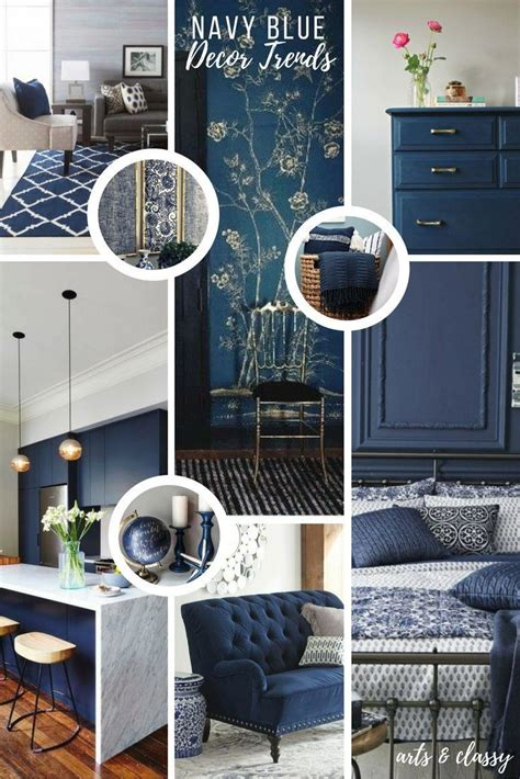 navy home decor decor hacks navy blue interior decor trends