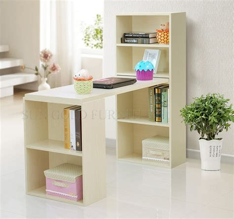 modern study table computer desk bookcase combination