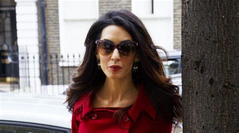 is amal clooney hair one length how to blow dry hair like amal clooney lookfantastic uk