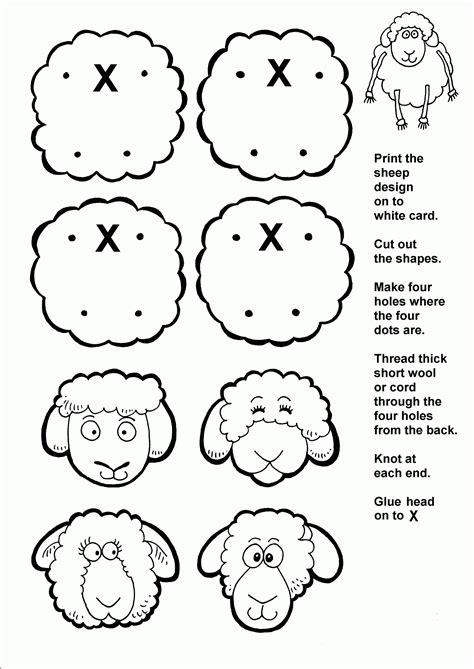 sheep coloring page pdf vbs 2015 parables of jesus sheep and sheep crafts