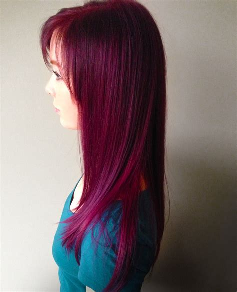 violet hair color amanda purple violet bright color luxe design