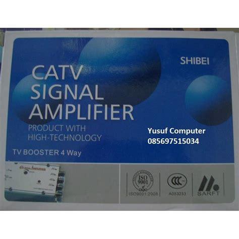 Promo Booster Antena Tv Shibei Penguatan Tinggi 40db Bagus Dan booster antena tv shibei rayden penguatan tinggi 40db